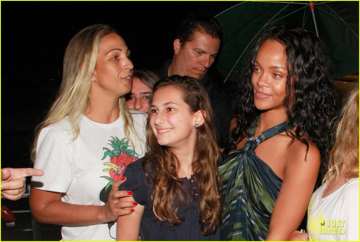 rihanna gold bikini beach babe in brazil 083036006