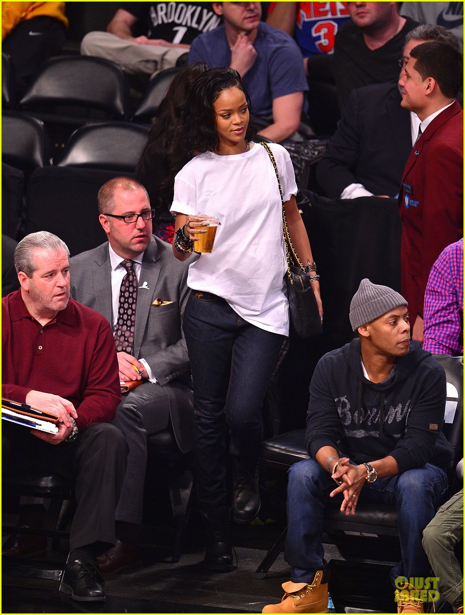 rihanna celebrates brooklyn nets win with new tattoo 033027842