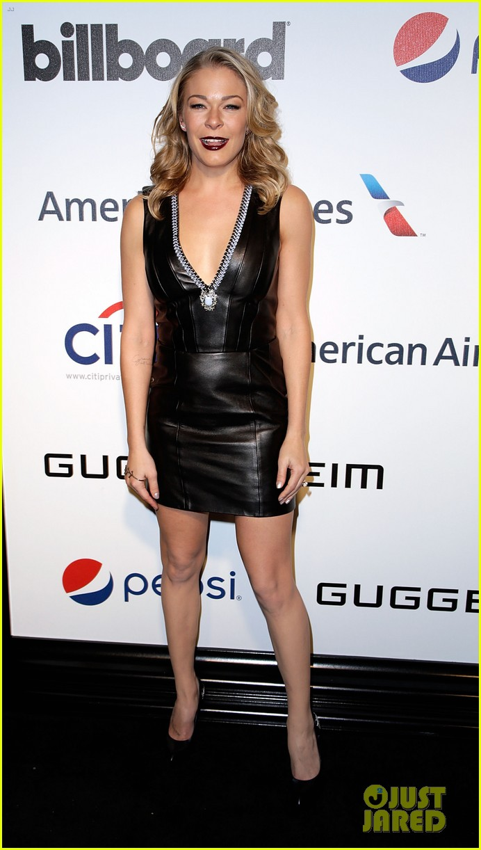 leann rimes billboards power 100 event with eddie cibrian 073038910