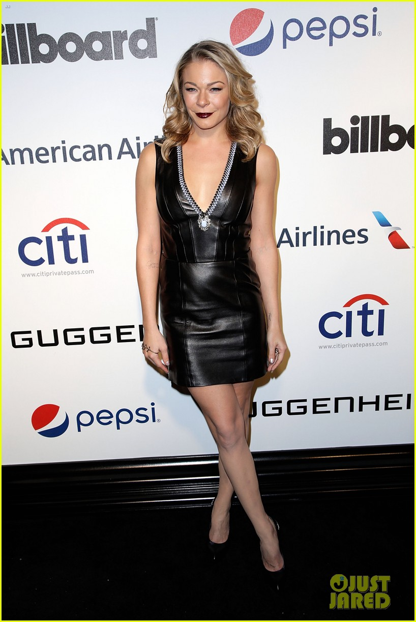 leann rimes billboards power 100 event with eddie cibrian 083038911