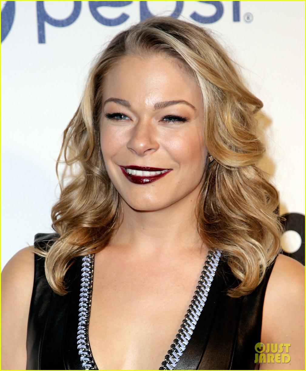 leann rimes billboards power 100 event with eddie cibrian 153038918
