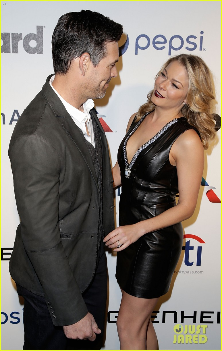 leann rimes billboards power 100 event with eddie cibrian 253038928