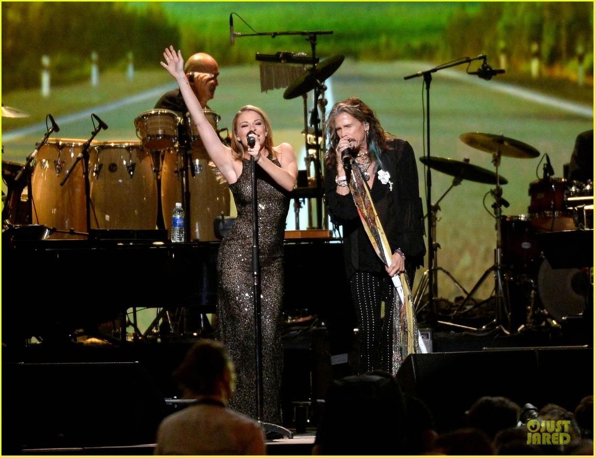 leann rimes steven tyler performers at musicares gala 143039793
