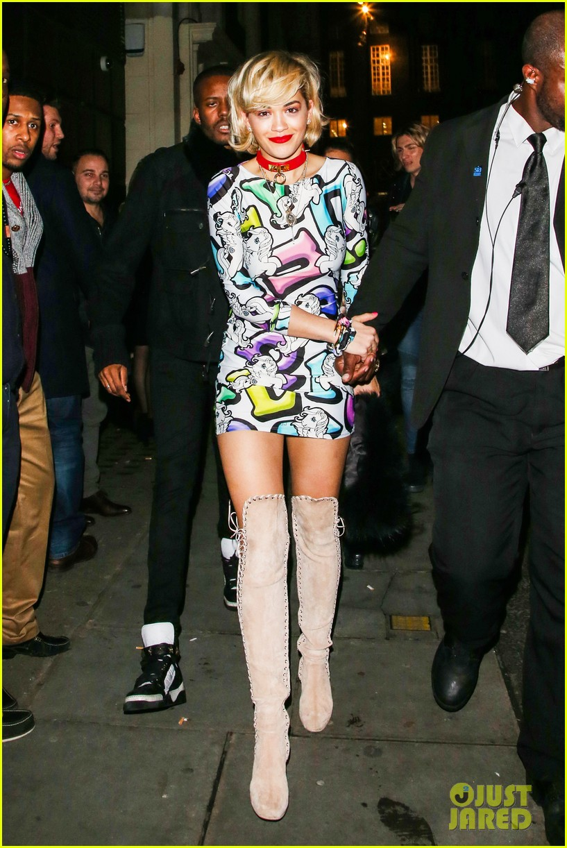 rita ora rocks my little pony mini dress london 013023103