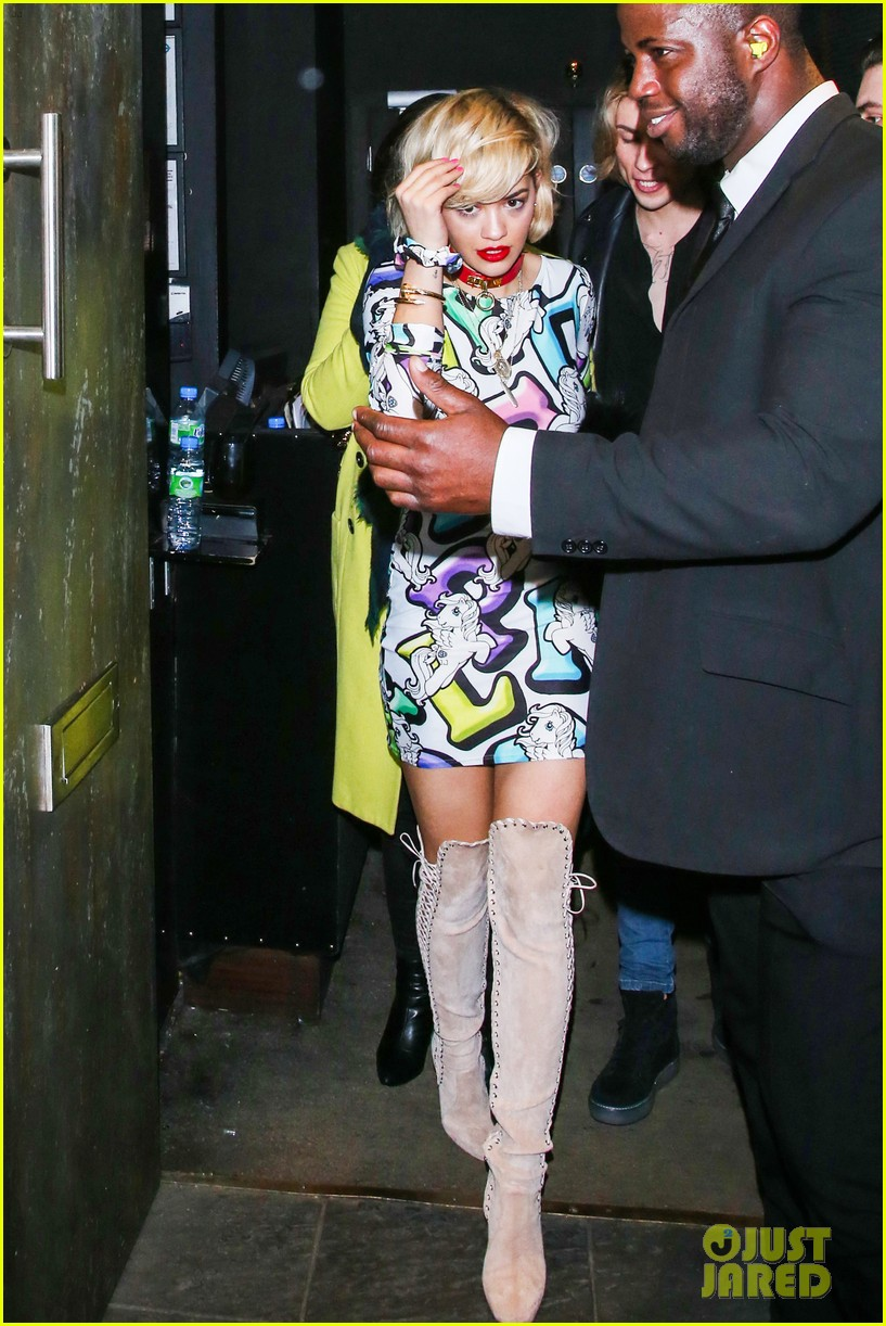 rita ora rocks my little pony mini dress london 073023109