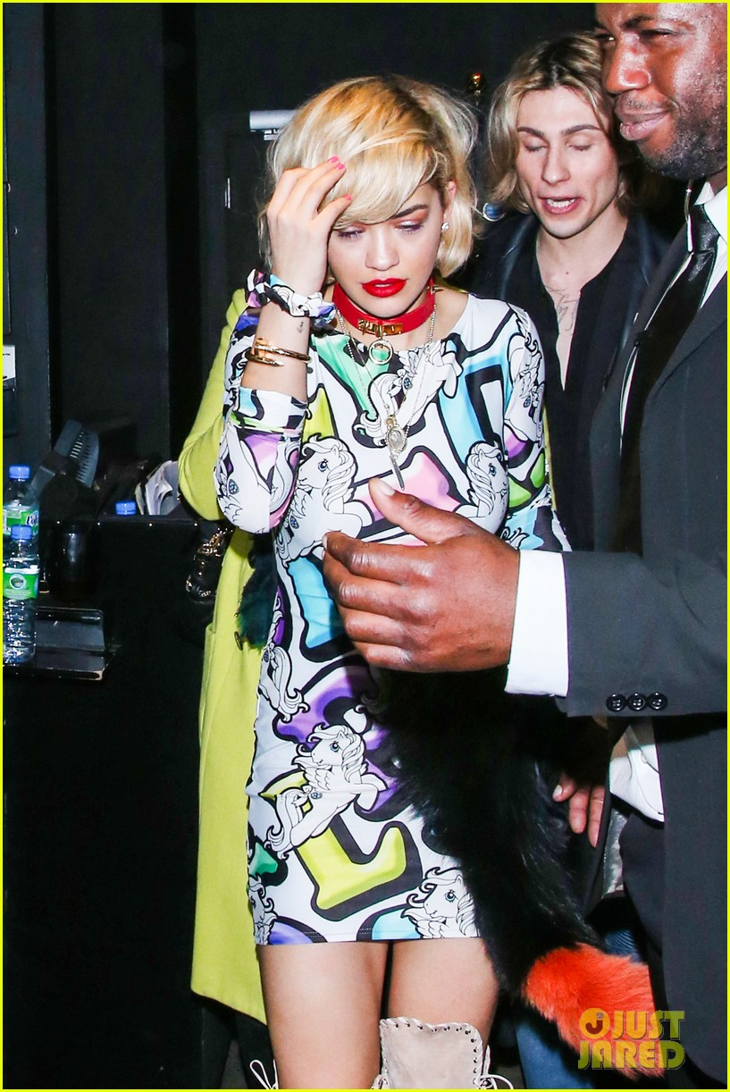 rita ora rocks my little pony mini dress london 103023112