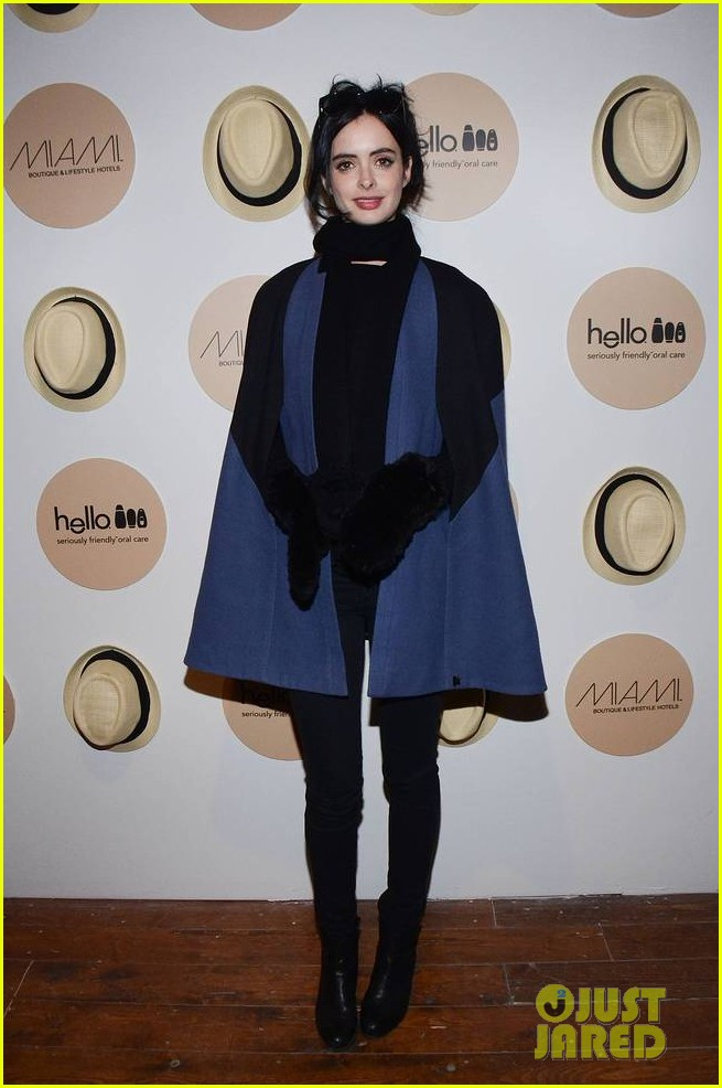 krysten ritter yellowtail cocktail party after learning to ride at sundance 033036429