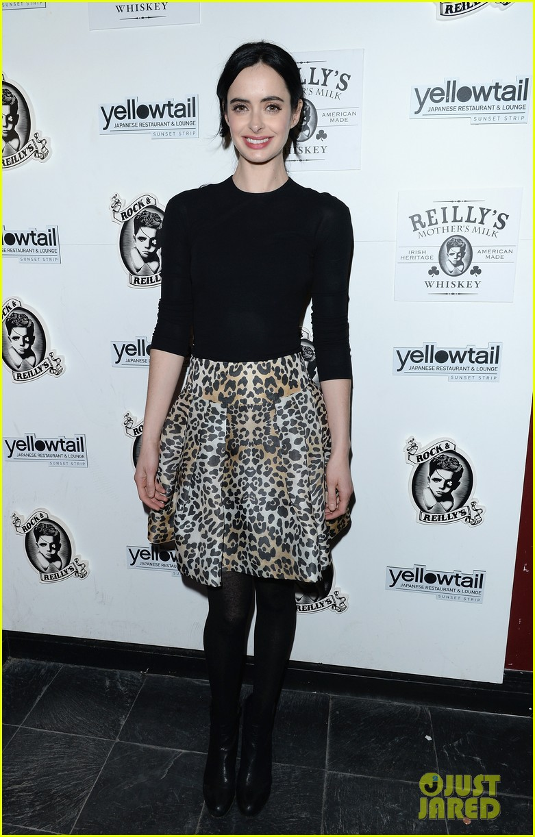 krysten ritter yellowtail cocktail party after learning to ride at sundance 083036434