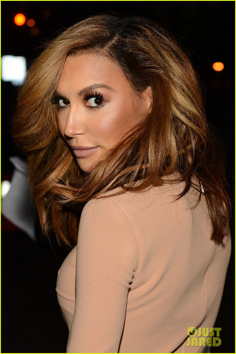naya rivera goes blonde at peoples choice awards 2014 043025587
