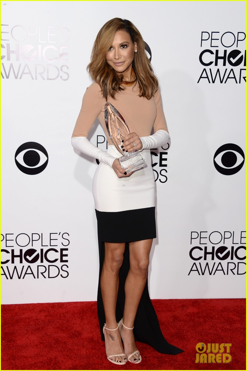 naya rivera goes blonde at peoples choice awards 2014 193025602