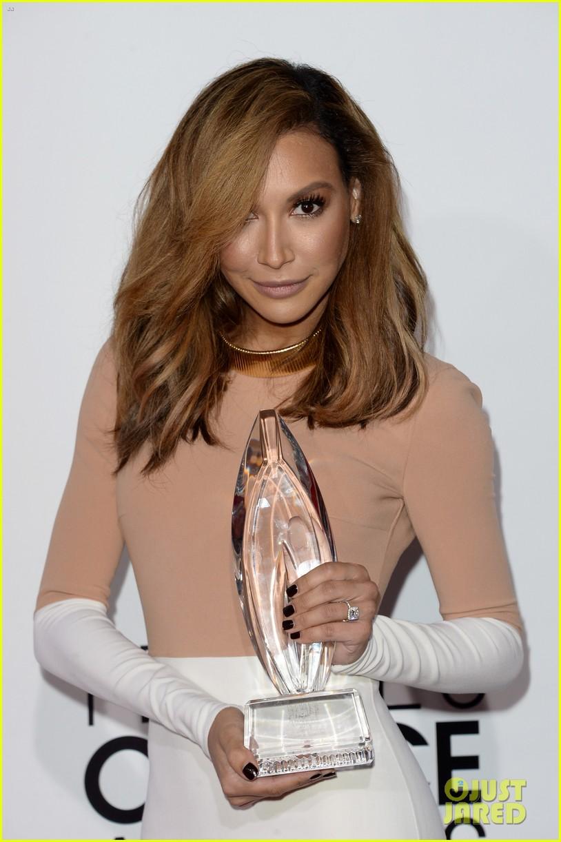 naya rivera goes blonde at peoples choice awards 2014 203025603
