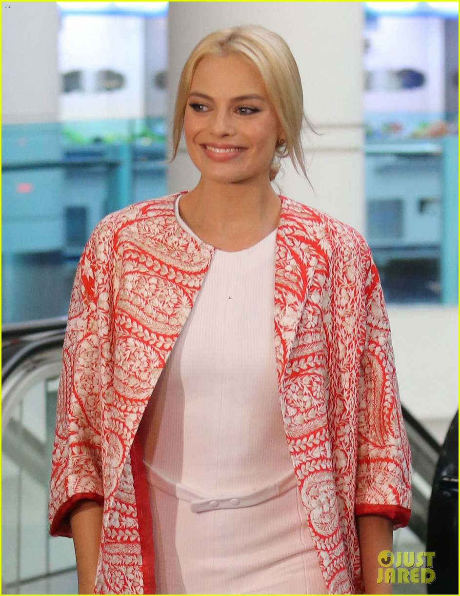 margot robbie wolf of wall street brisbane premiere 063036729