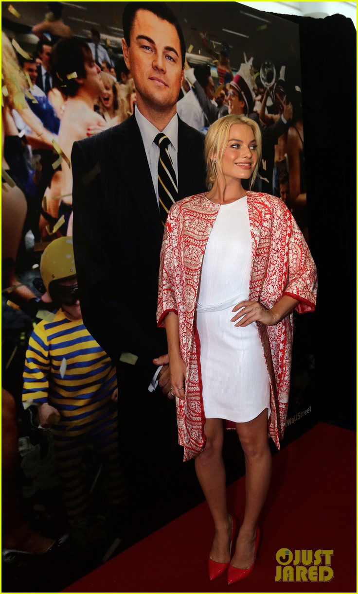 margot robbie wolf of wall street brisbane premiere 103036733