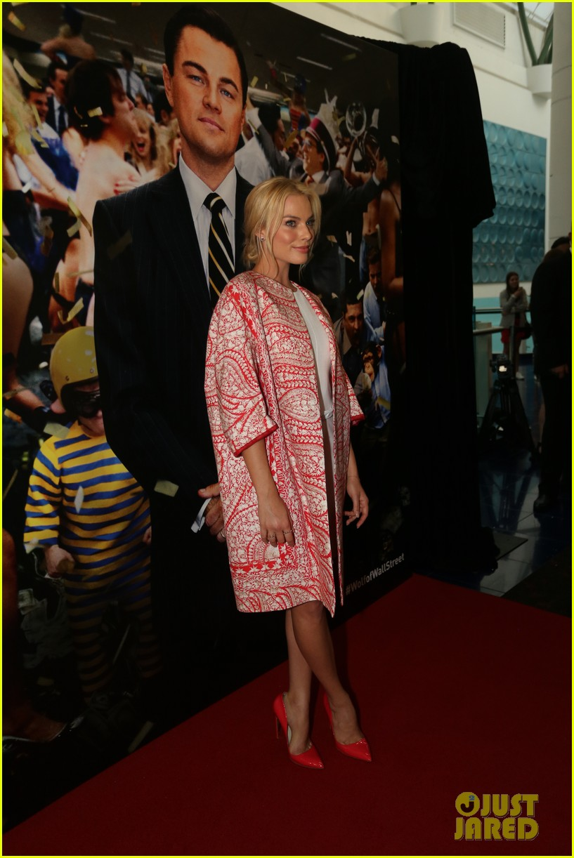 margot robbie wolf of wall street brisbane premiere 17