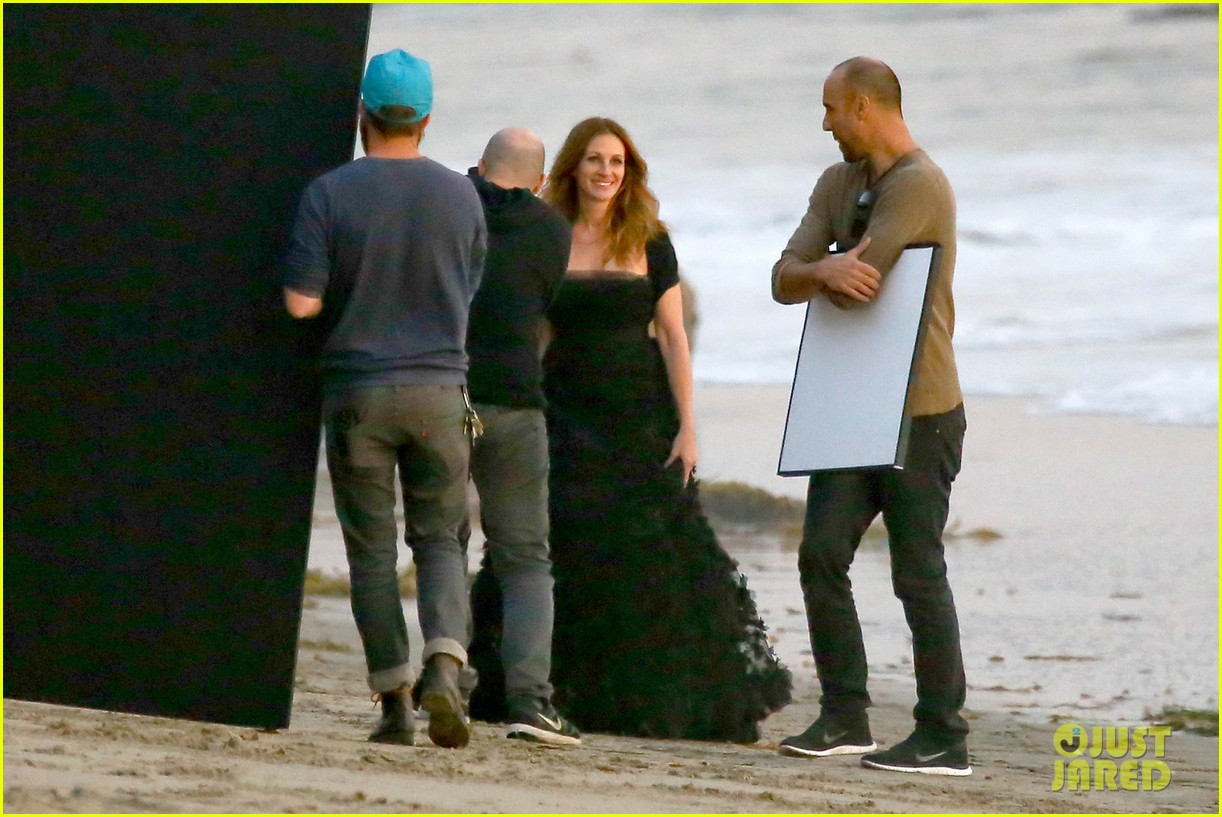 julia roberts wears elegant gown for beach photo shoot 173043858