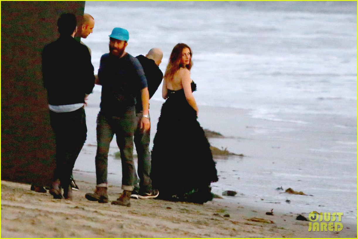 julia roberts wears elegant gown for beach photo shoot 243043865
