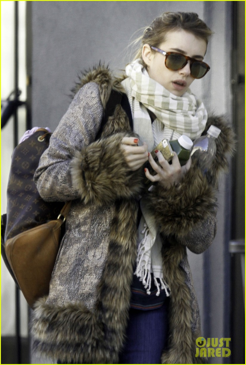 emma roberts steps out without ring after evan peters engagement 083025321