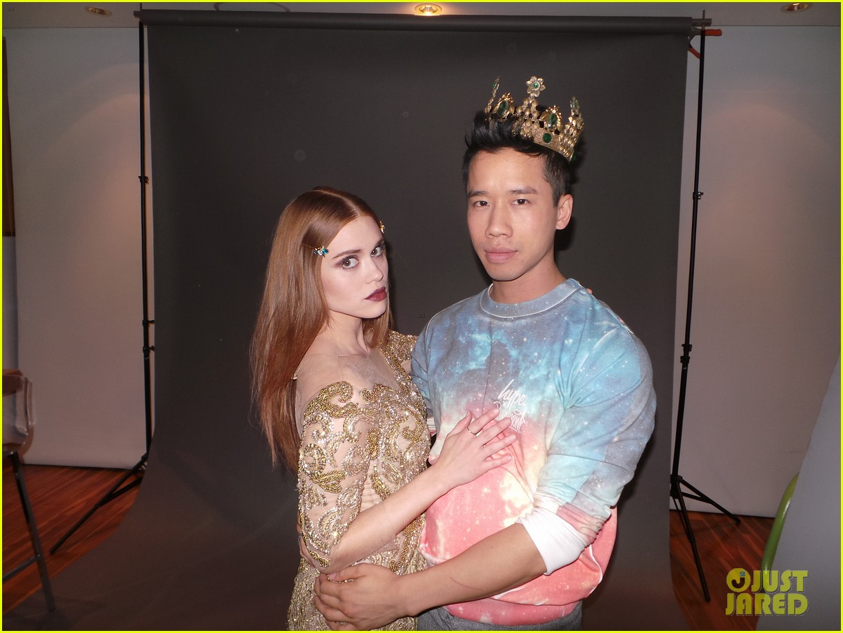 holland roden jj spotlight of the week behind the scenes pics 04
