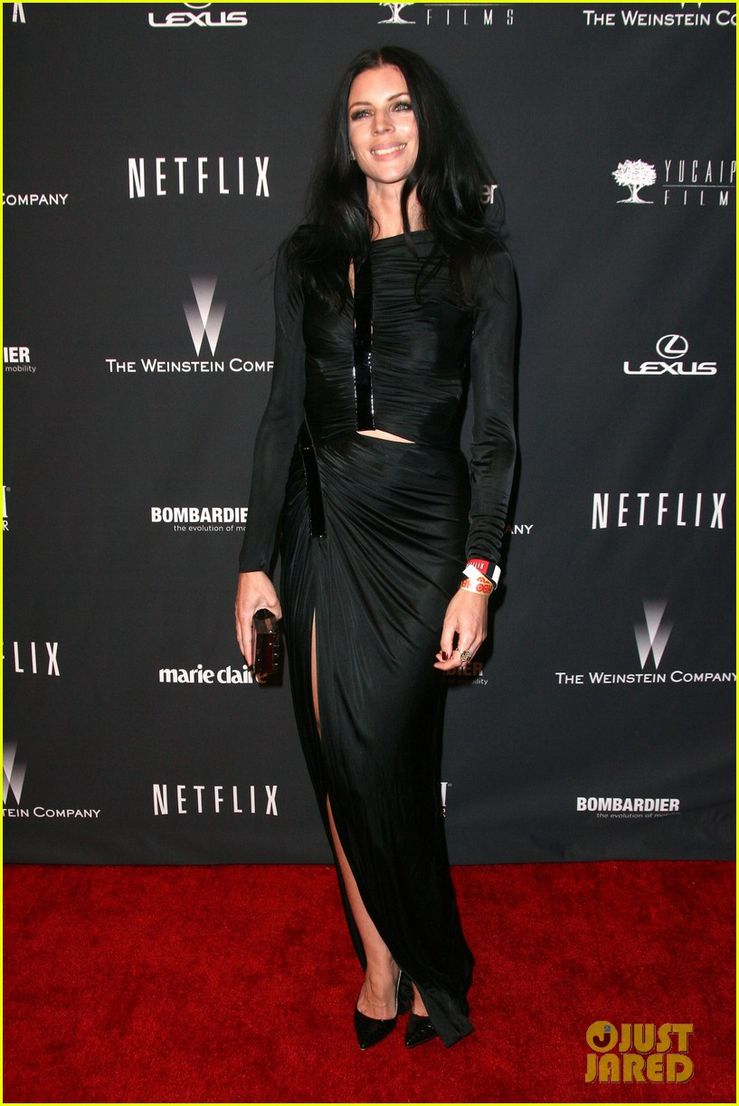 liberty ross rachel zoe weinstein golden globes party 2014 15
