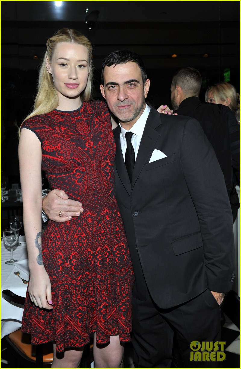 emmy rossum iggy azalea antonio berardi private dinner 223025222