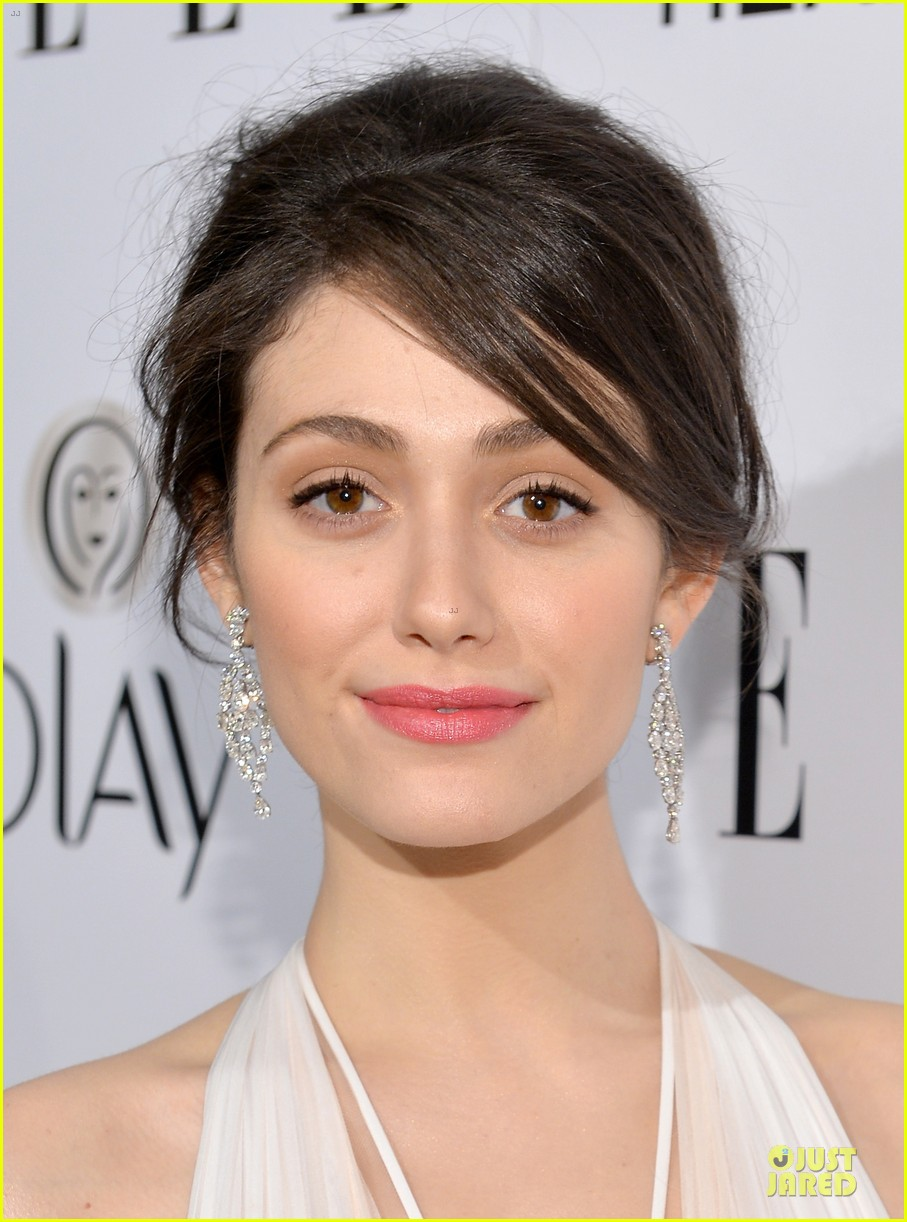emmy rossum i received a justin bieber care package 123038318