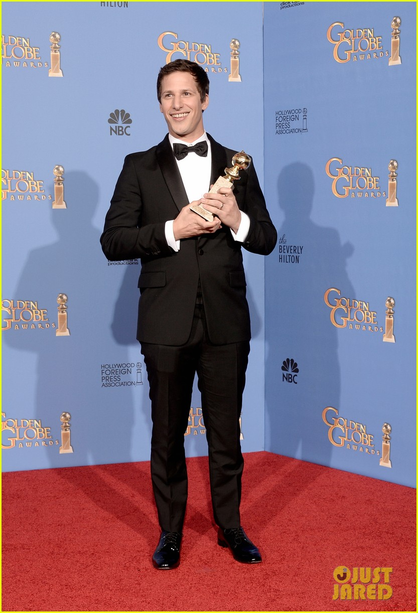 andy samberg wins best actor at golden globes 2014 033029638