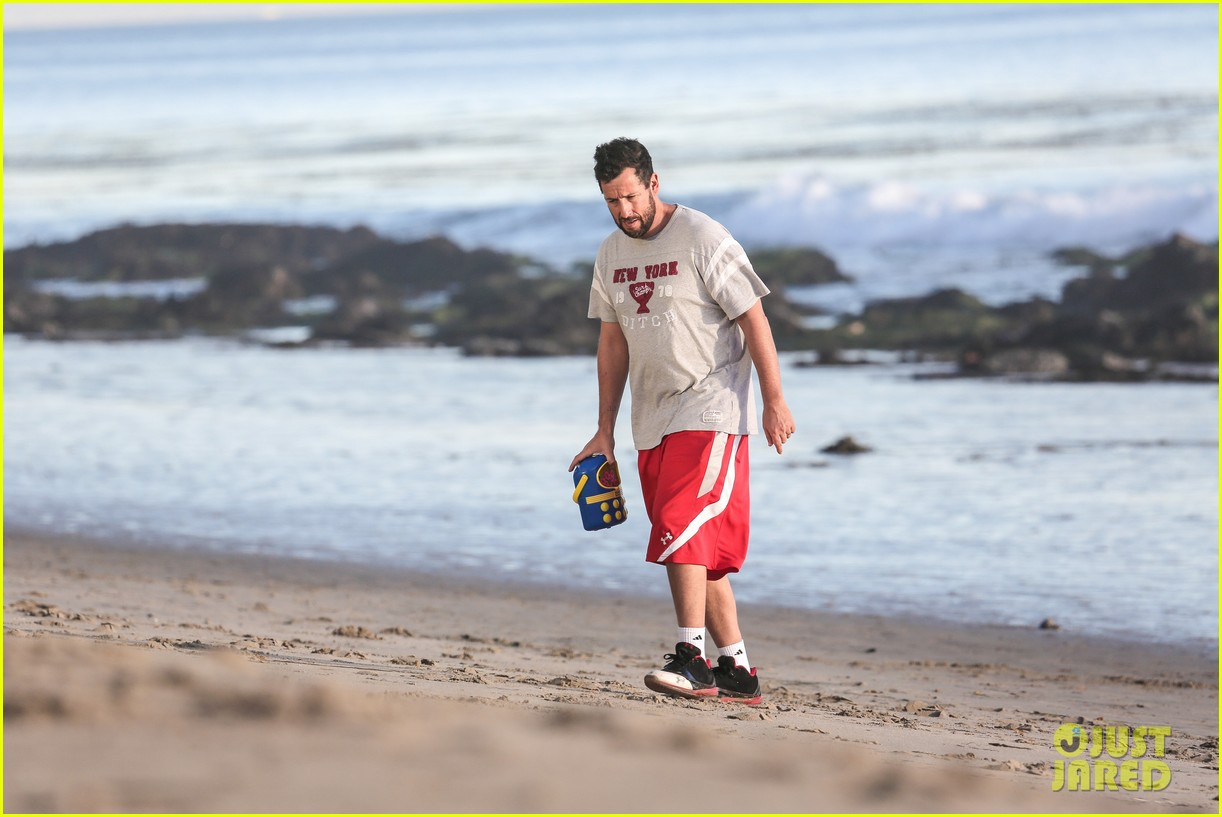 adam sandler back on west coast after hawaii trip 14