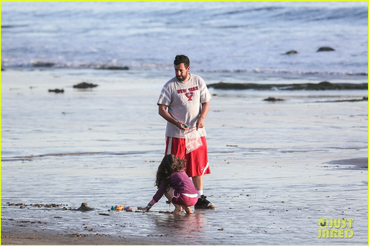 adam sandler back on west coast after hawaii trip 233022041
