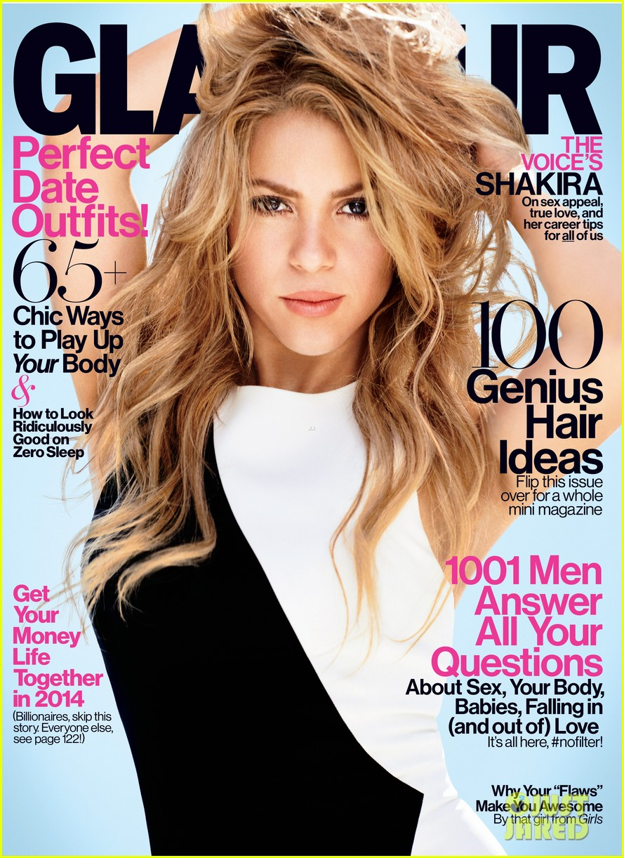 shakira covers glamour february 2014 01