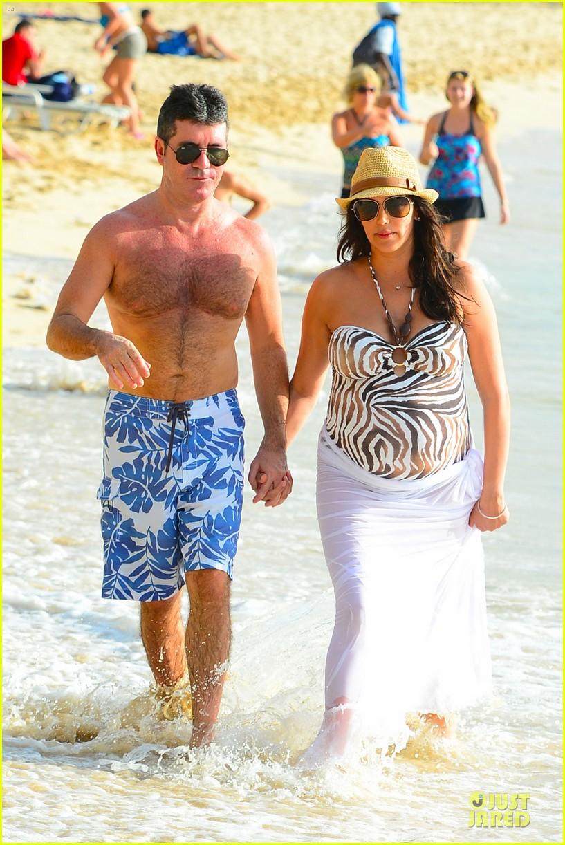 simon cowell lauren silverman hold hands on new year eve 033020708