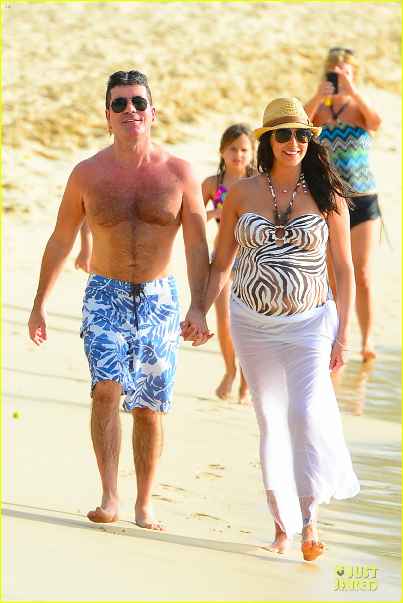 simon cowell lauren silverman hold hands on new year eve 063020711