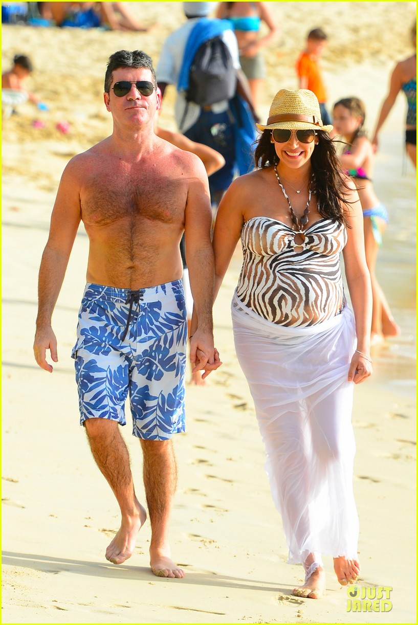 simon cowell lauren silverman hold hands on new year eve 073020712
