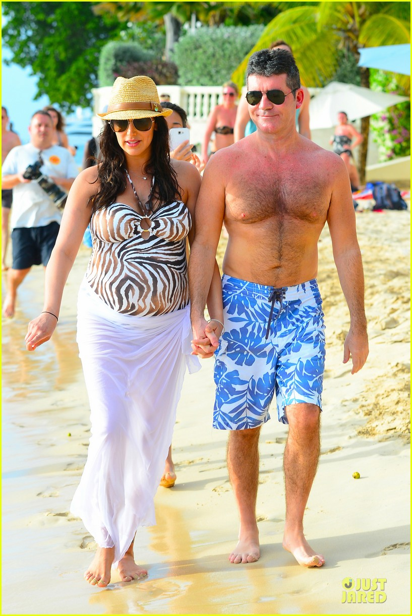 simon cowell lauren silverman hold hands on new year eve 233020728