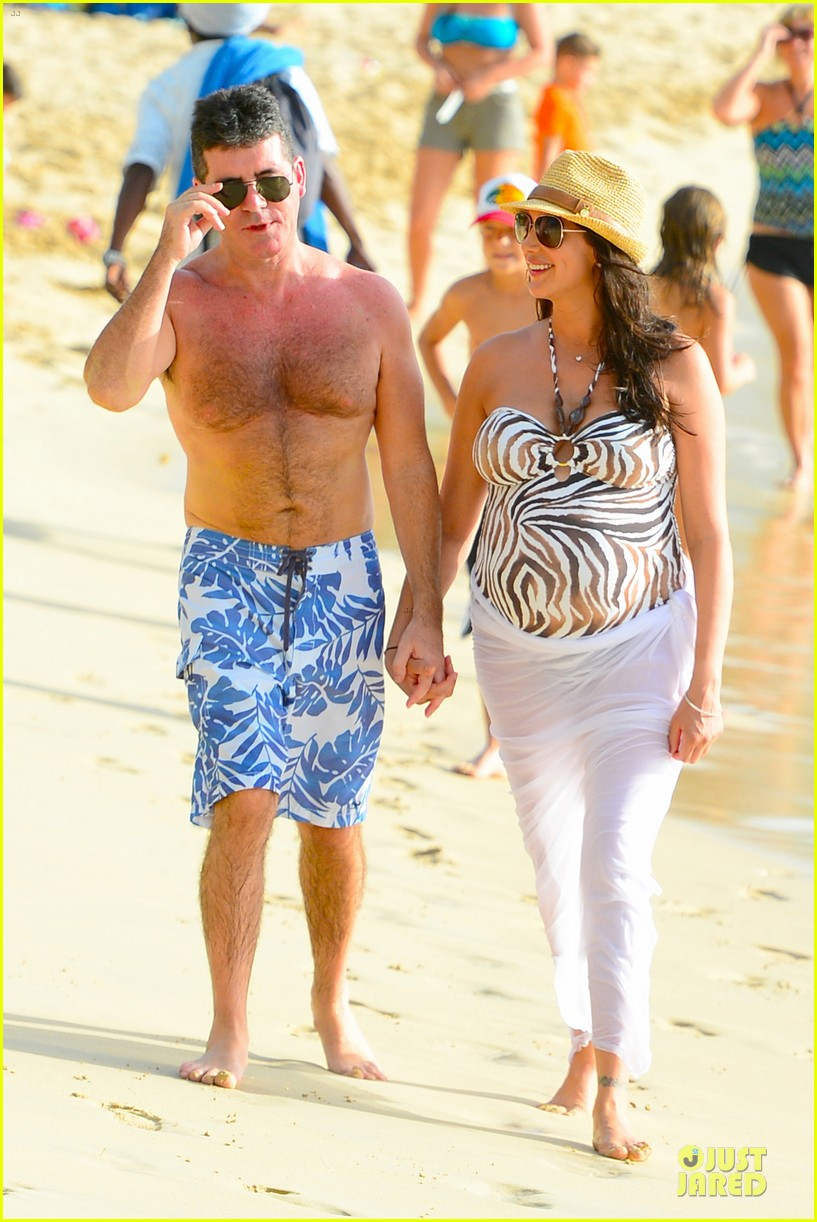 simon cowell lauren silverman hold hands on new year eve 243020729