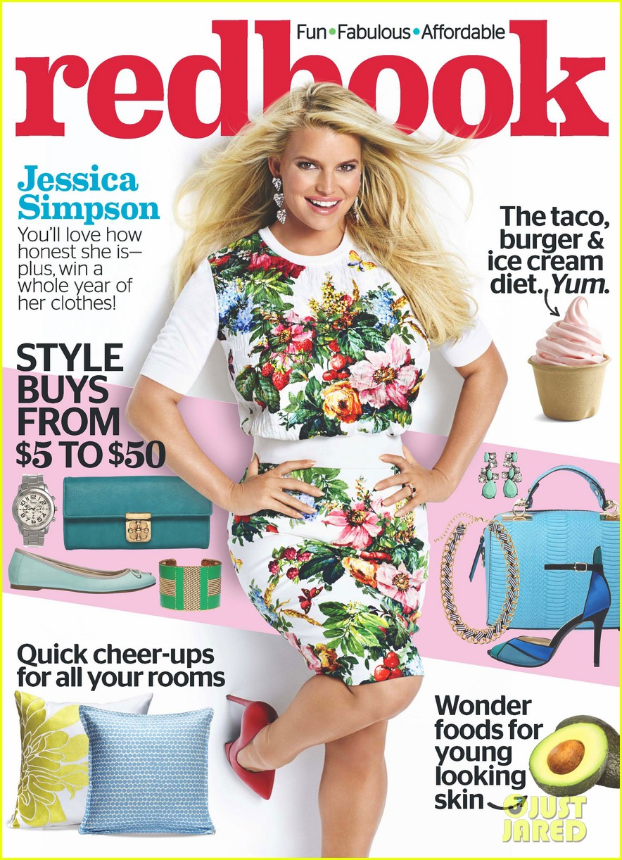 jessica simpson covers redbook february 2014 093024450