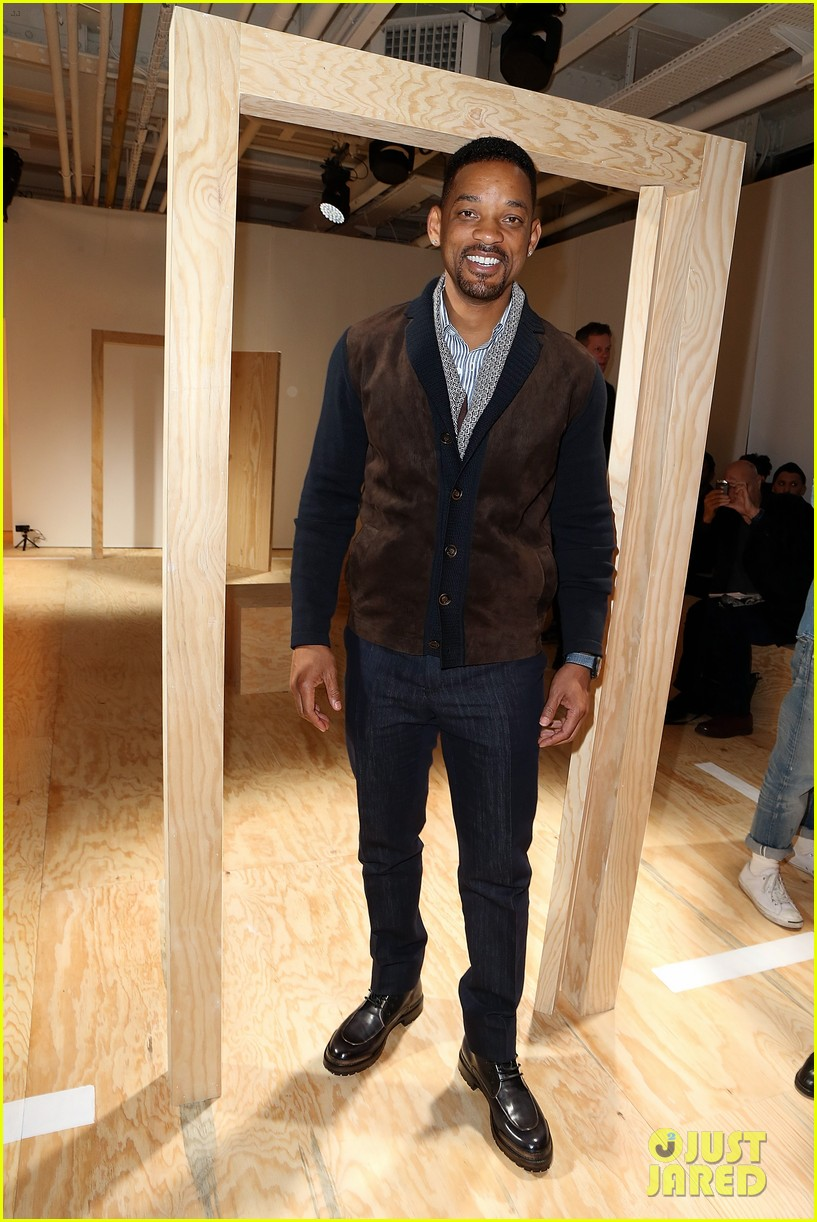 will smith karlie kloss dior homme fashion show 013035260