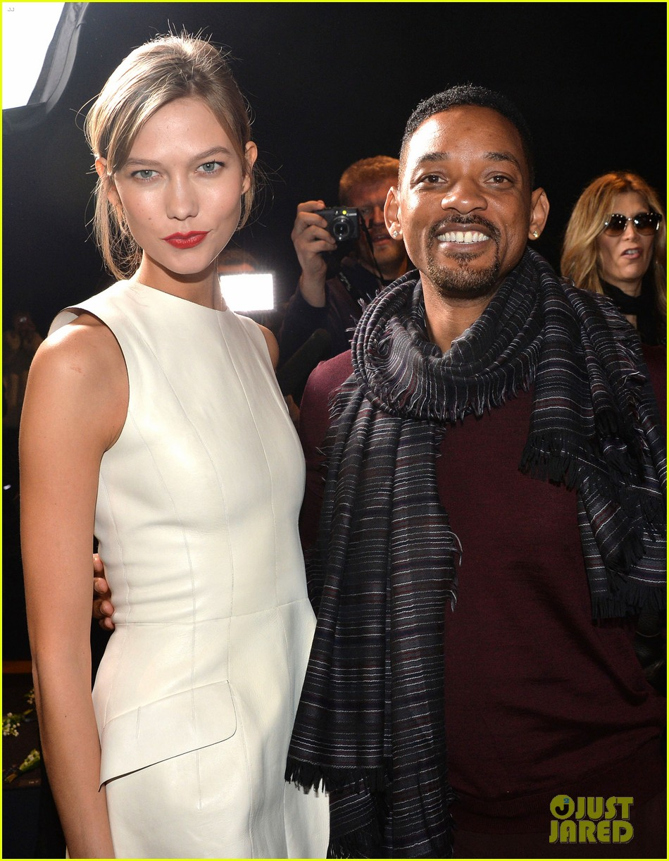 will smith karlie kloss dior homme fashion show 043035263