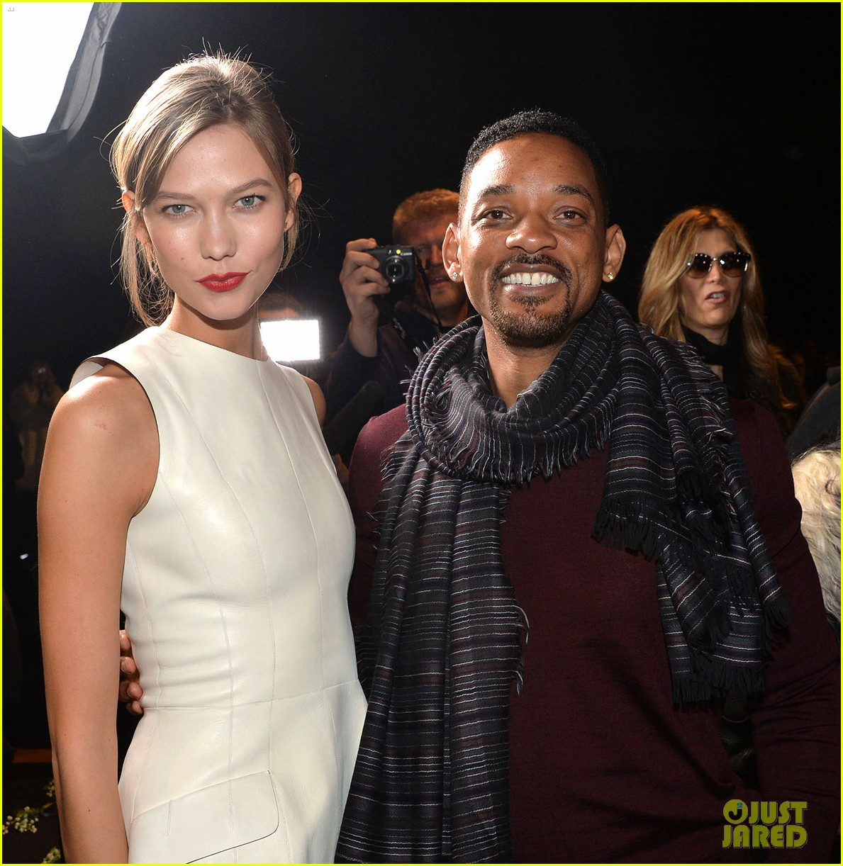 will smith karlie kloss dior homme fashion show 143035273