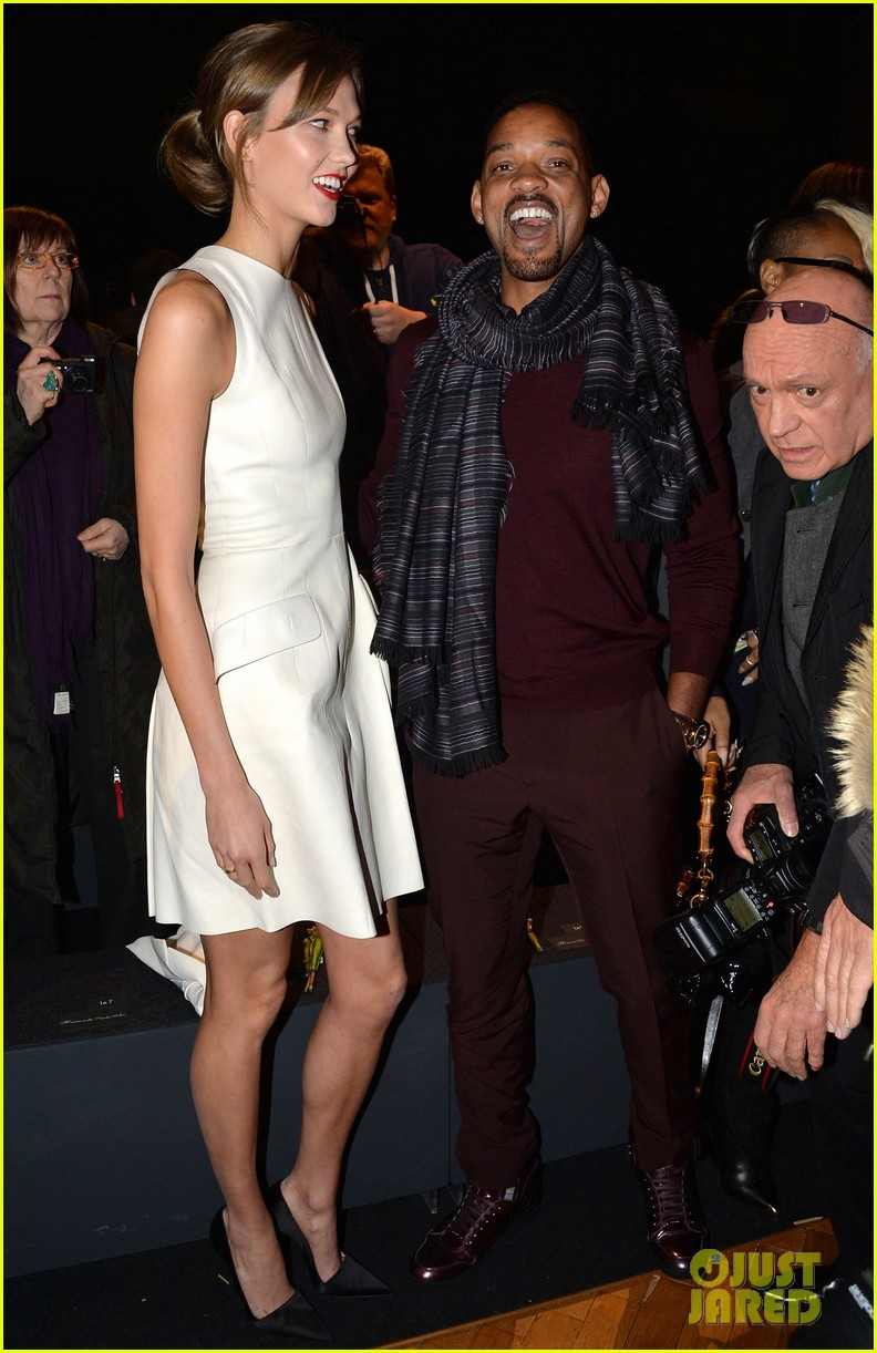will smith karlie kloss dior homme fashion show 153035274