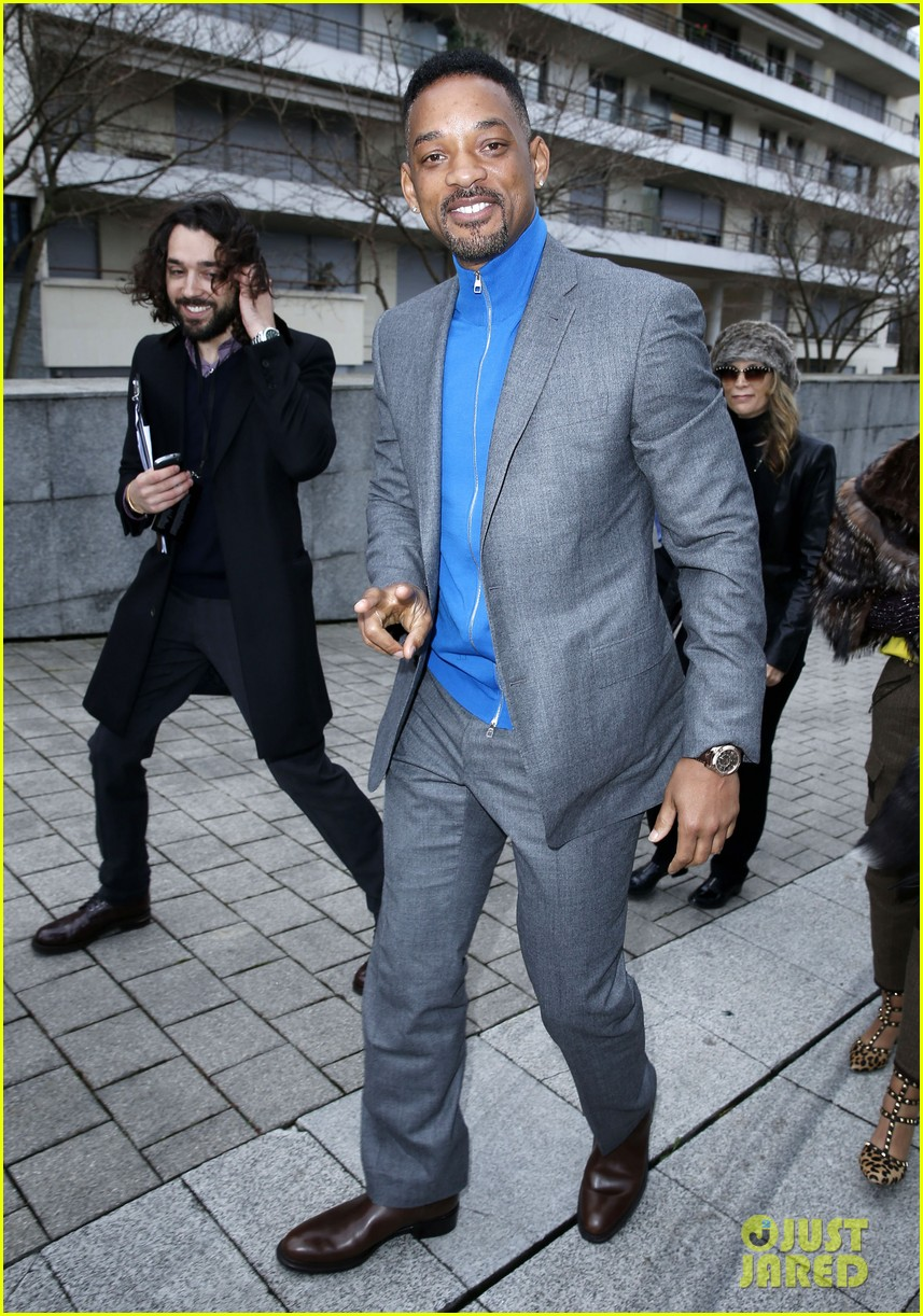 Will Smith Amp Lily Allen Louis Vuitton Paris Fashion Week