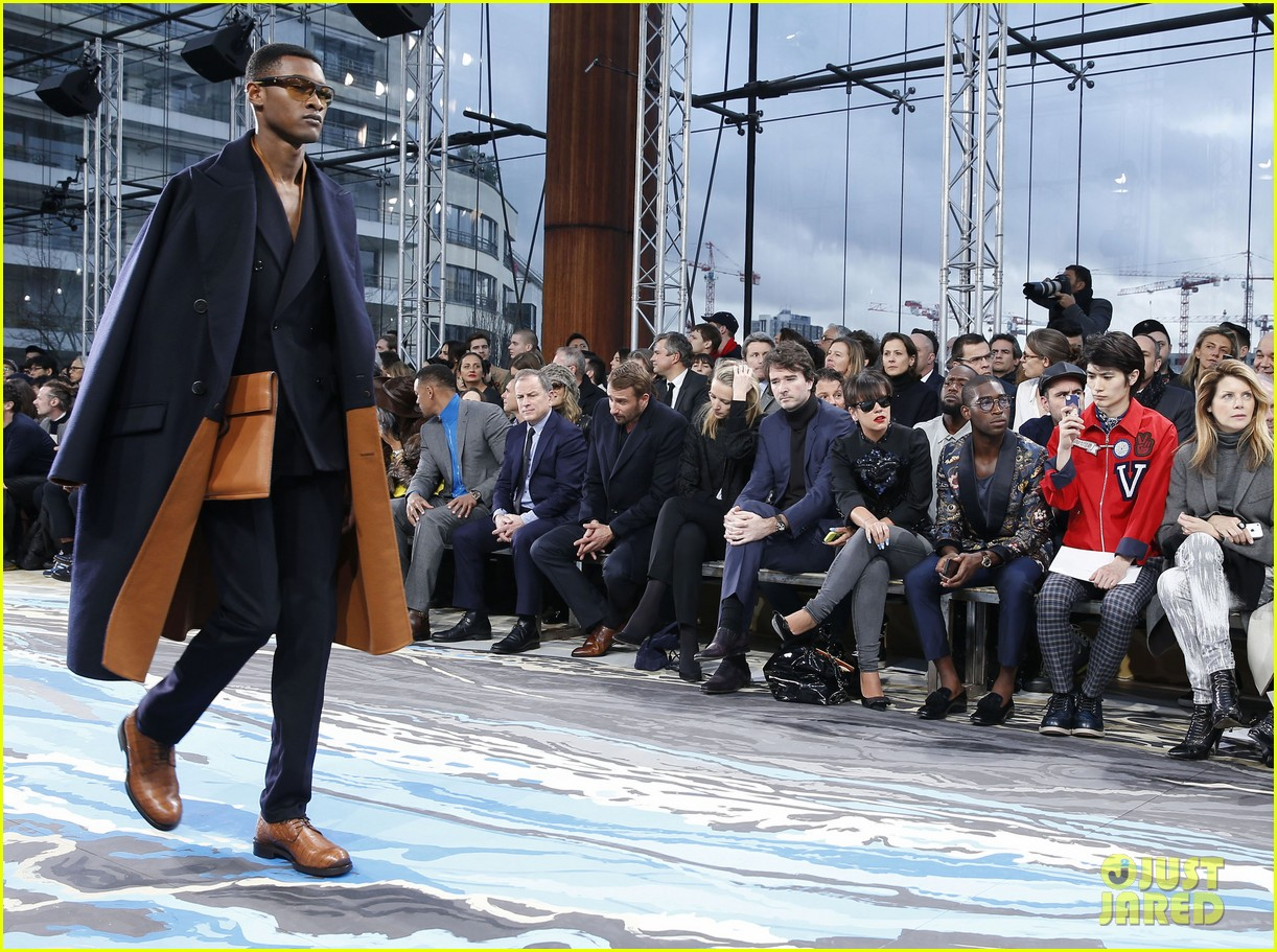 will smith lily allen louis vuitton fashion show 093032649