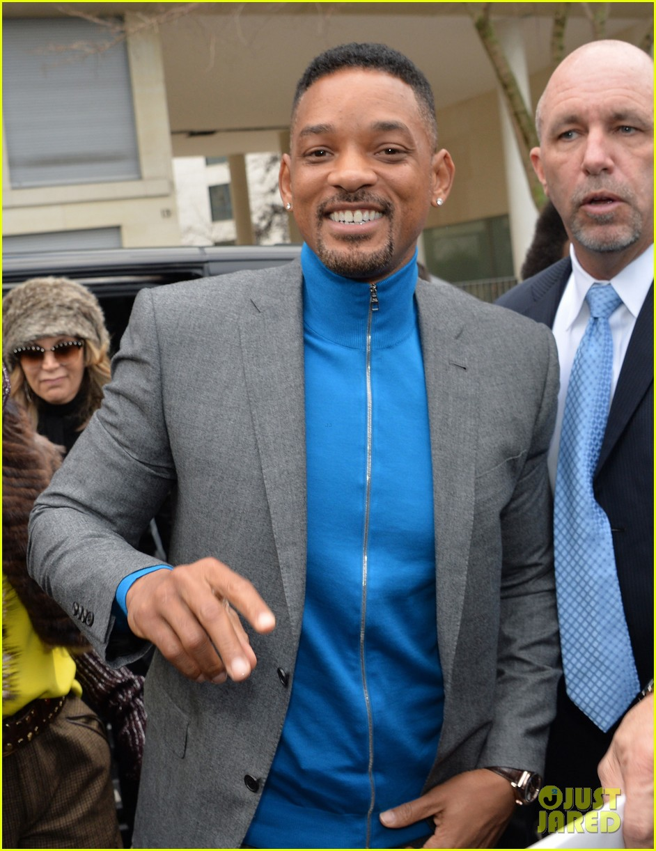 will smith lily allen louis vuitton fashion show 20