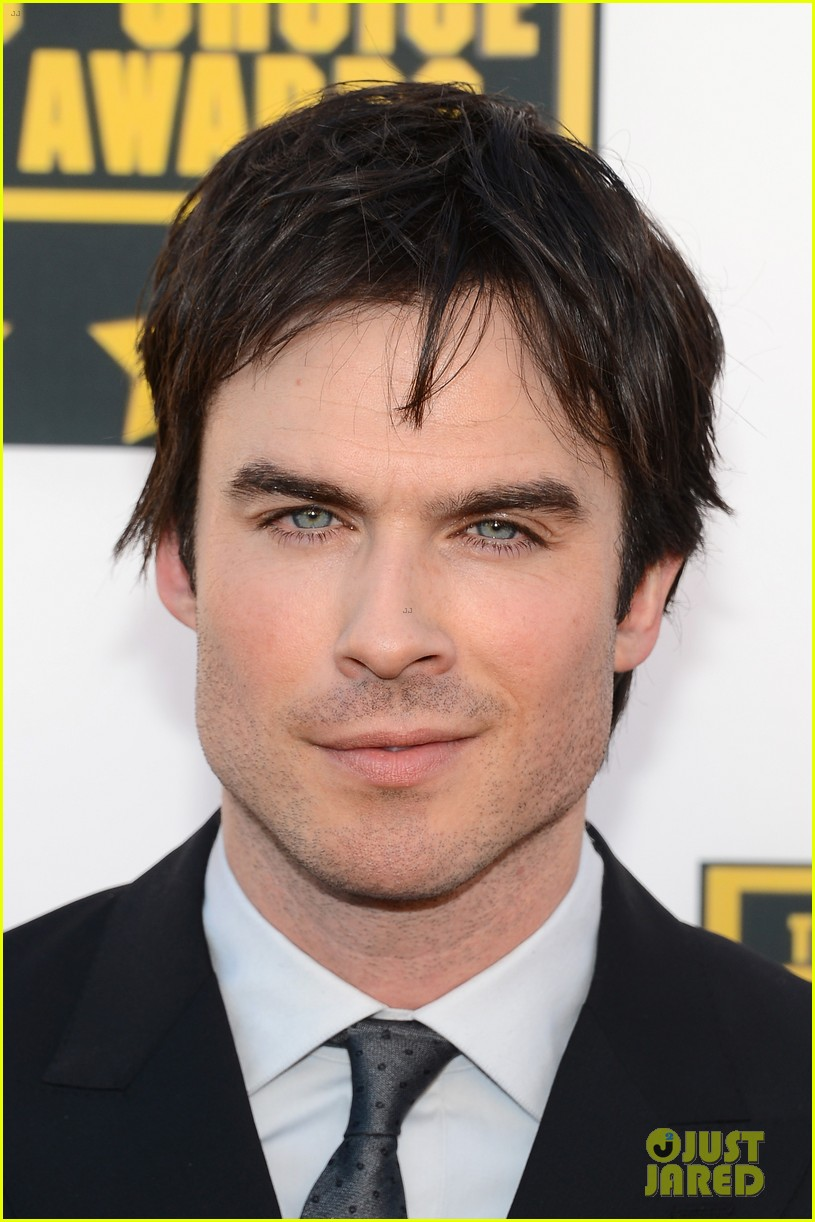 ian somerhalder critics choice movie awards 2014 red carpet 033032948