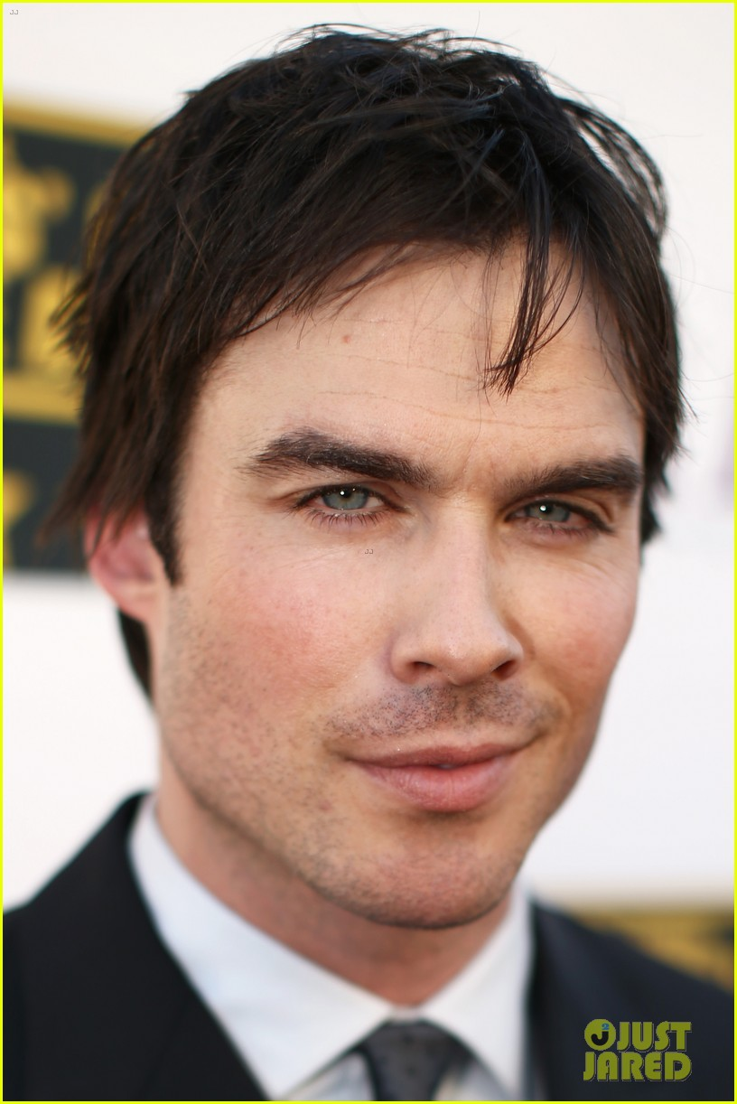 ian somerhalder critics choice movie awards 2014 red carpet 073032952