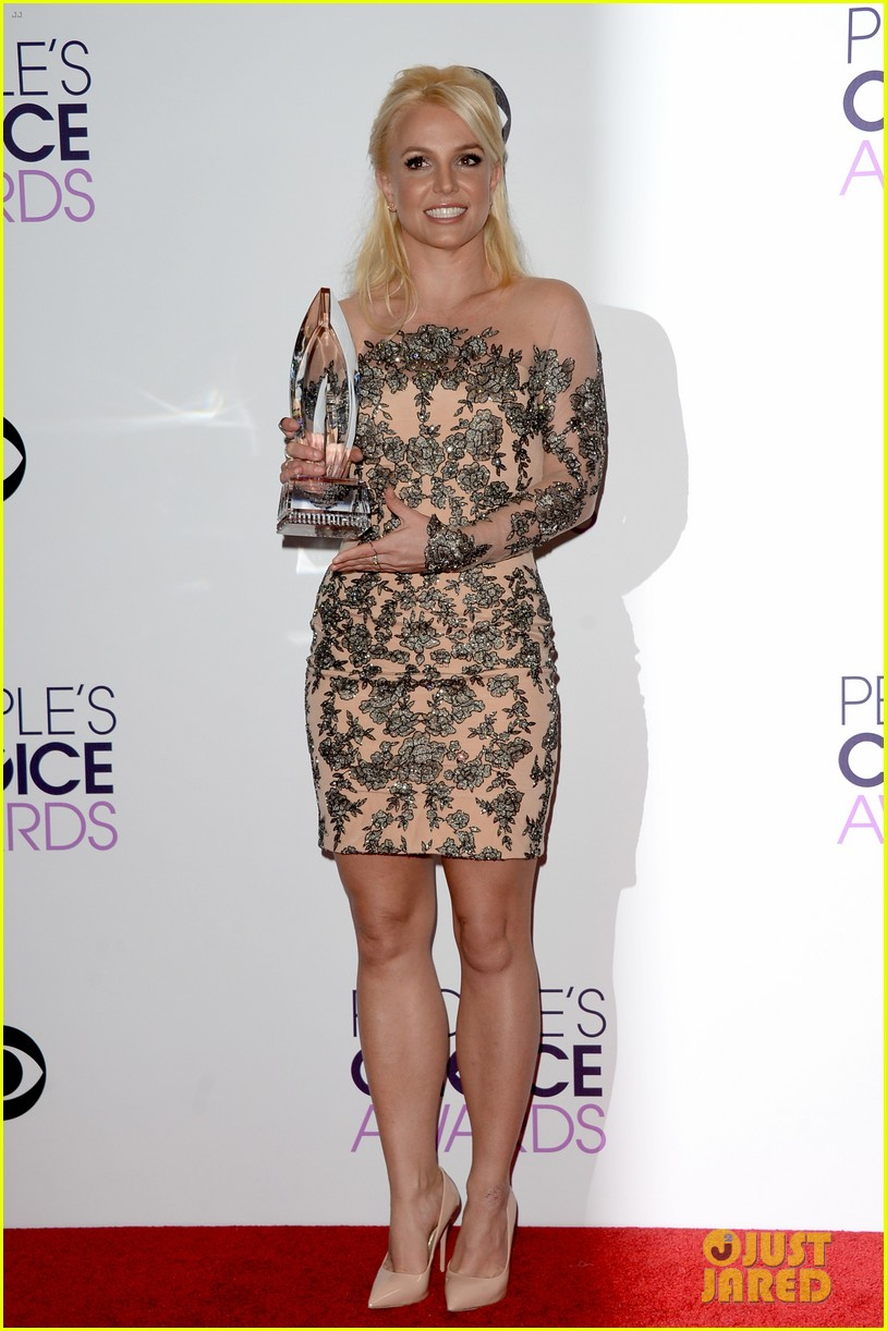 britney spears peoples choice awards 2014 with david lucado 033025696