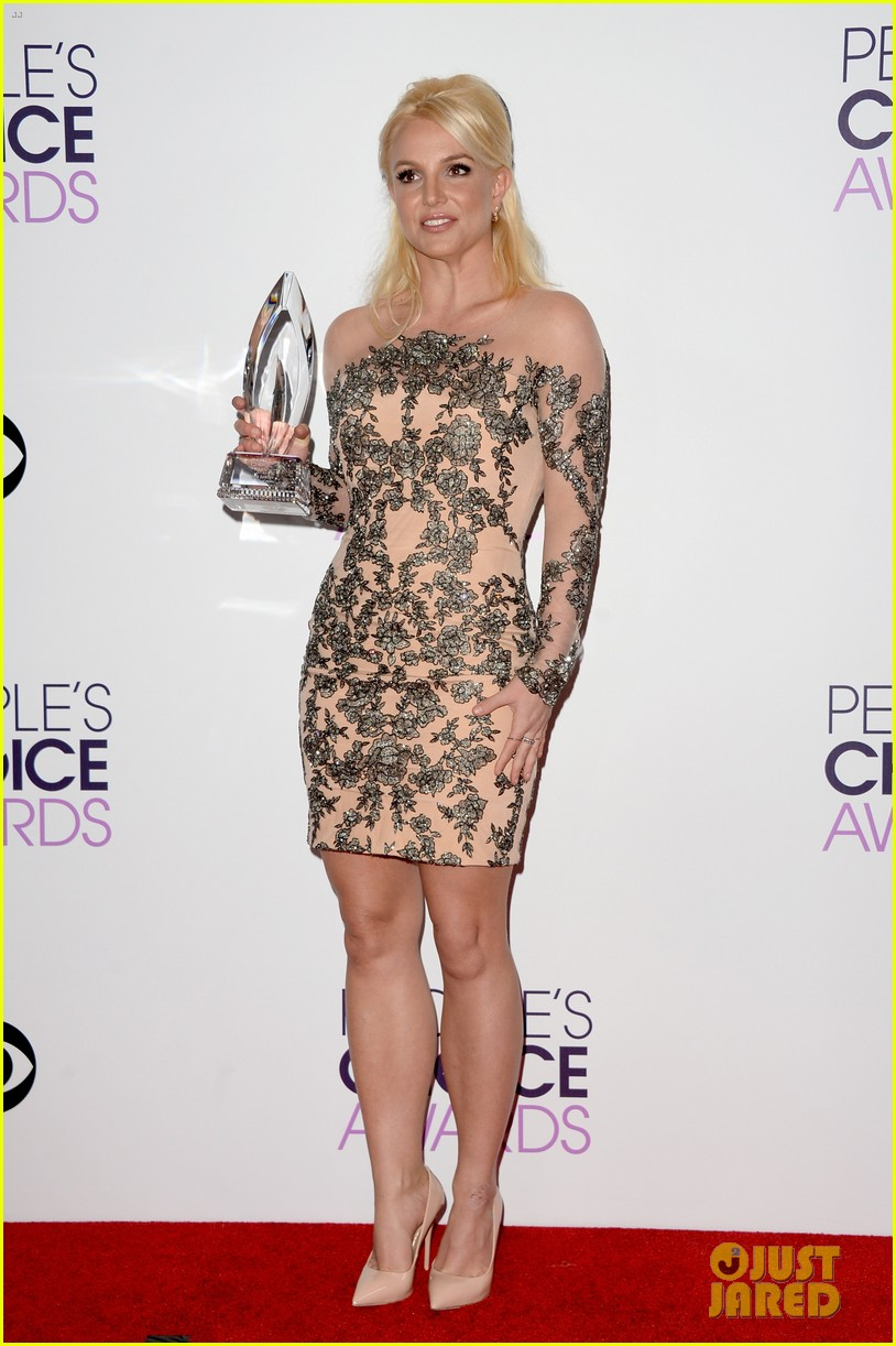 britney spears peoples choice awards 2014 with david lucado 163025709