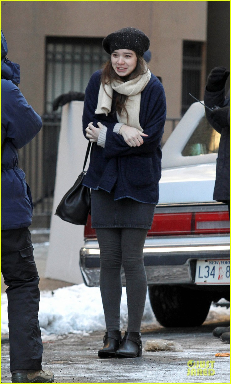 hailee steinfeld emily mortimer battle the cold for thousand saints 033045132