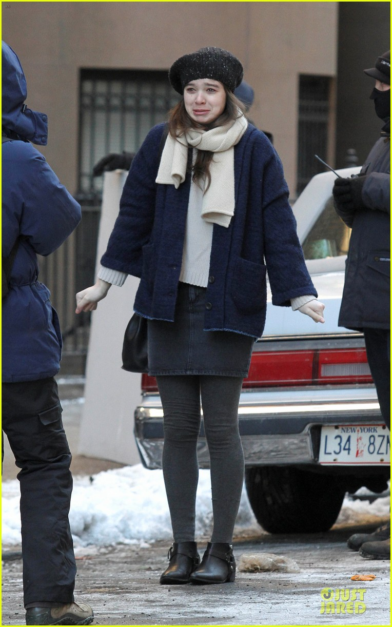 hailee steinfeld emily mortimer battle the cold for thousand saints 063045135