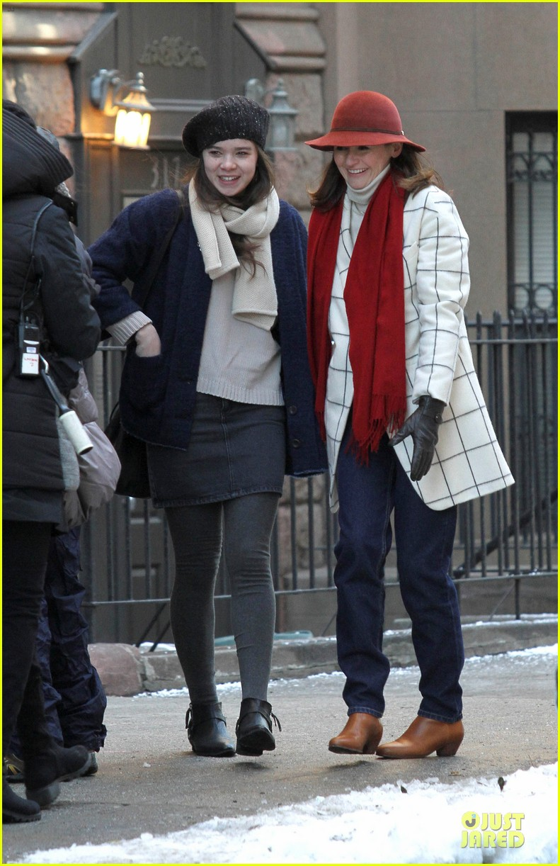 hailee steinfeld emily mortimer battle the cold for thousand saints 10