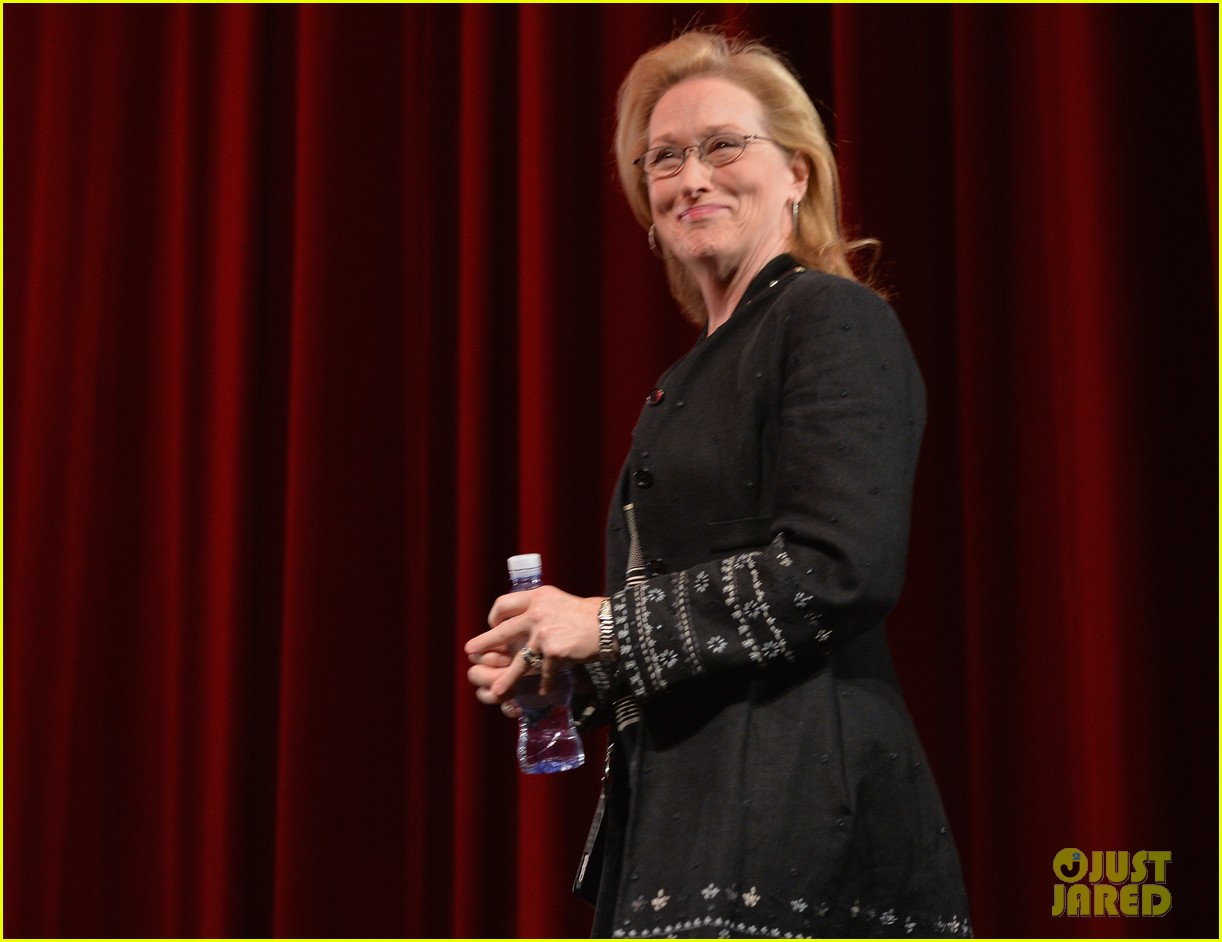 meryl streep august osage county l a screening 05